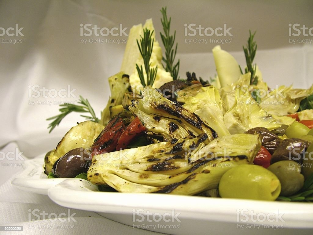 Antipasti - Fragment 2 stock photo