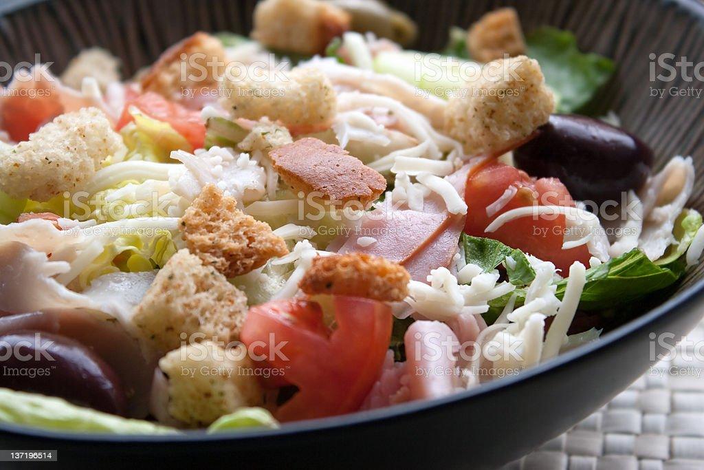 Antipasto Chefs Salad stock photo