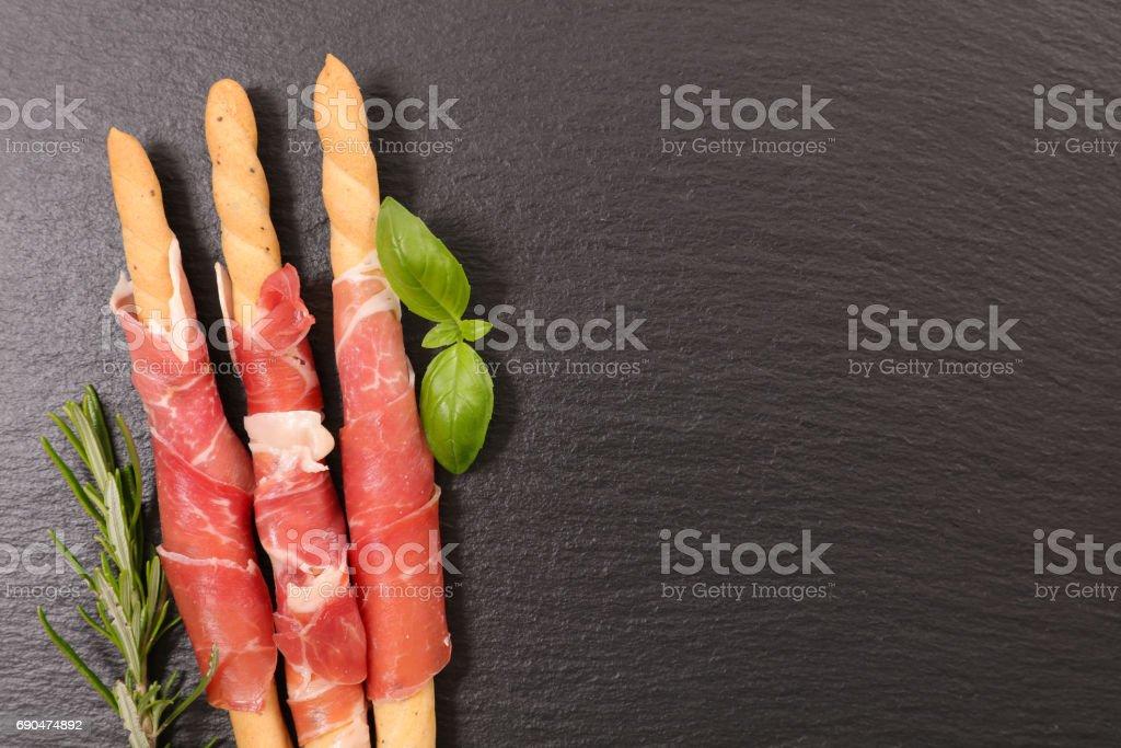 antipasto stock photo