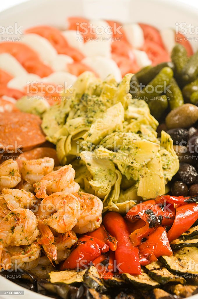Antipasto Platter royalty-free stock photo