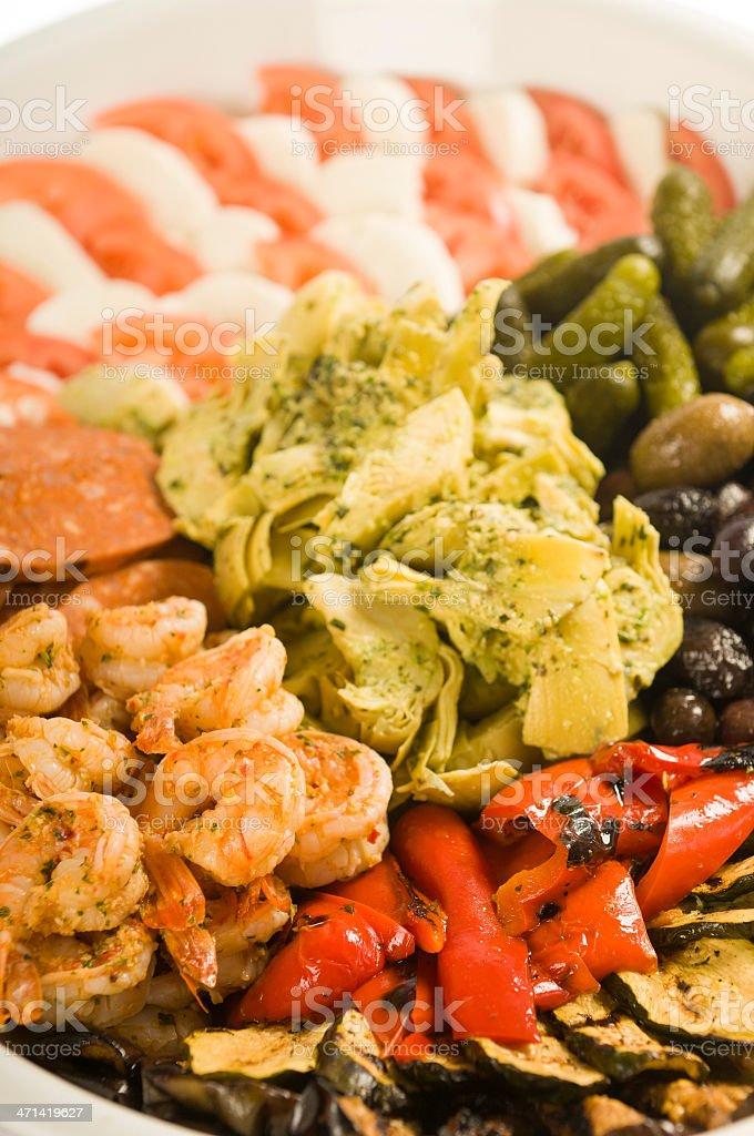Antipasto Platter stock photo
