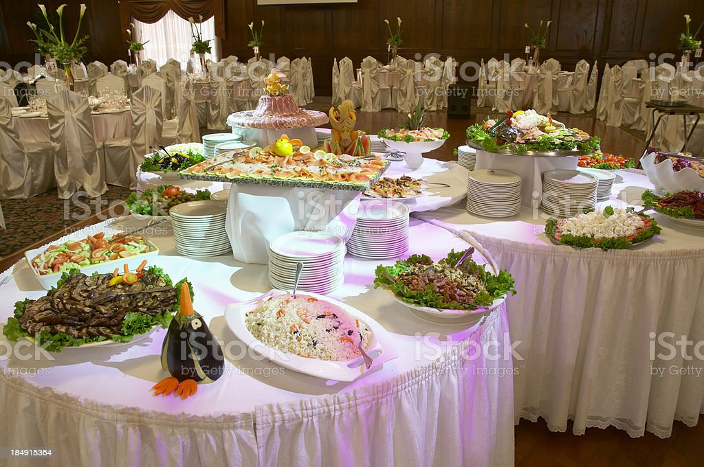 Antipasto Table royalty-free stock photo