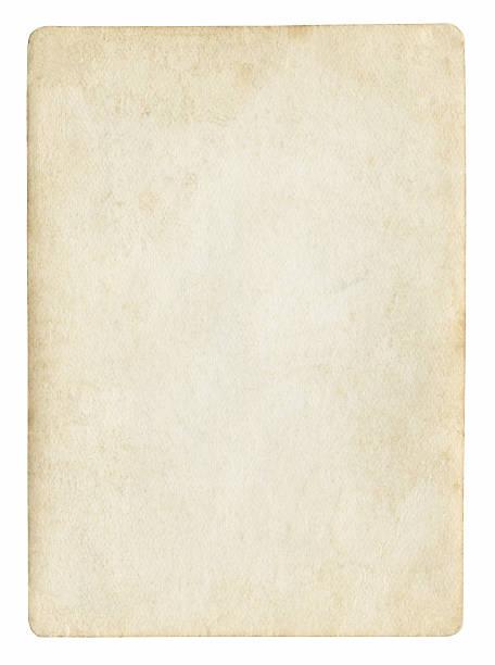 alte leere papier - klapprahmen stock-fotos und bilder