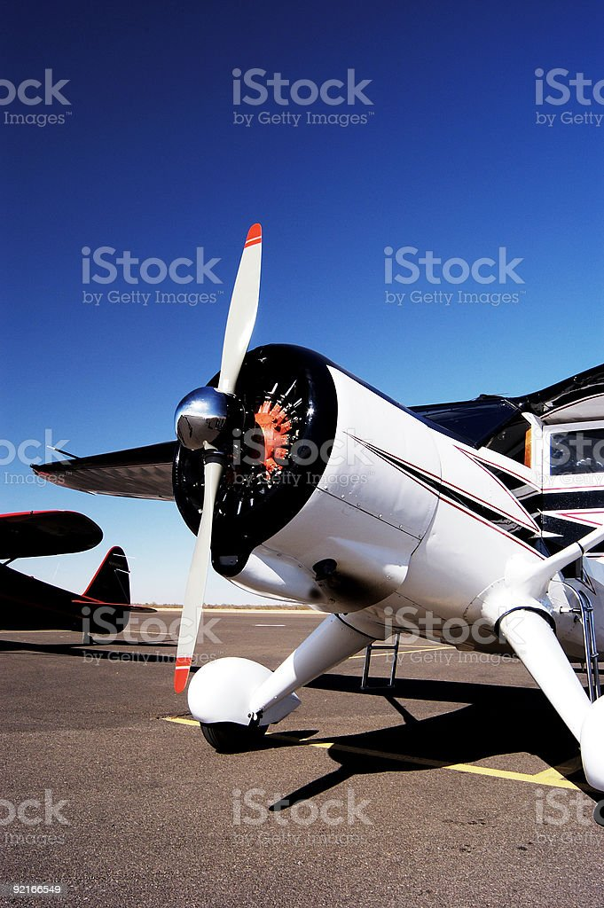 Antique Aircraft 7 royalty-free stock photo