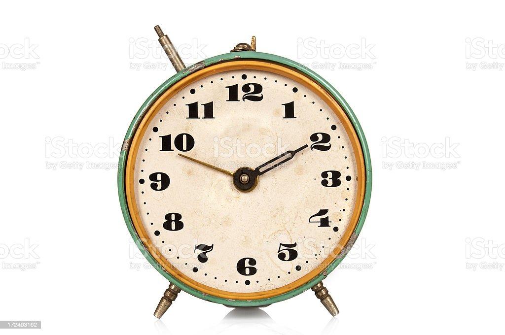 Antique alarm clock royalty-free stock photo