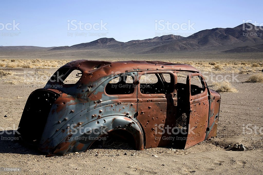 Antique and Forgotten royalty-free stock photo