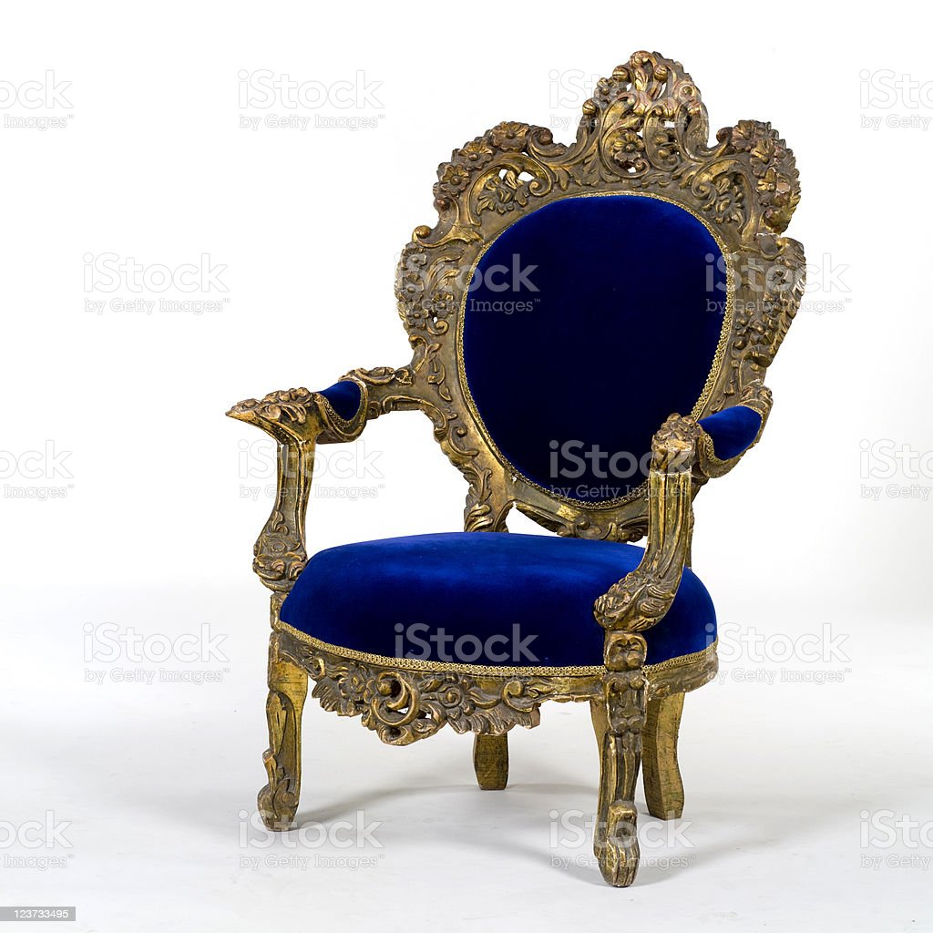 Antique  armchair royalty-free stock photo
