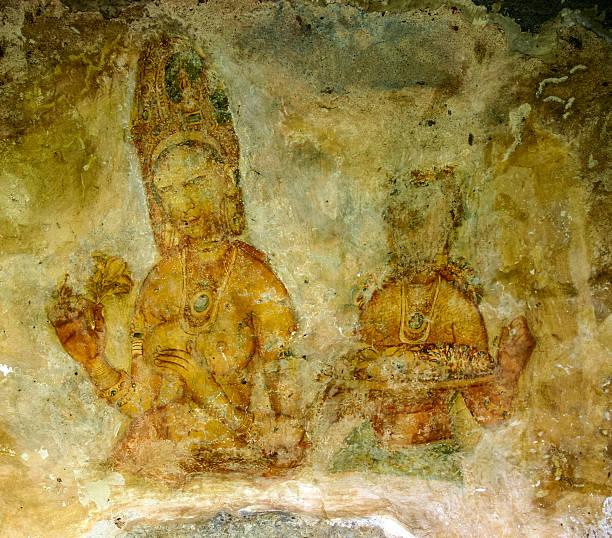 Sri Lanka Naked Women Fresco Stock Photos, Pictures