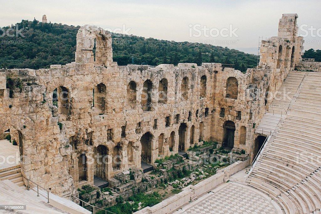 Antique Athens stock photo