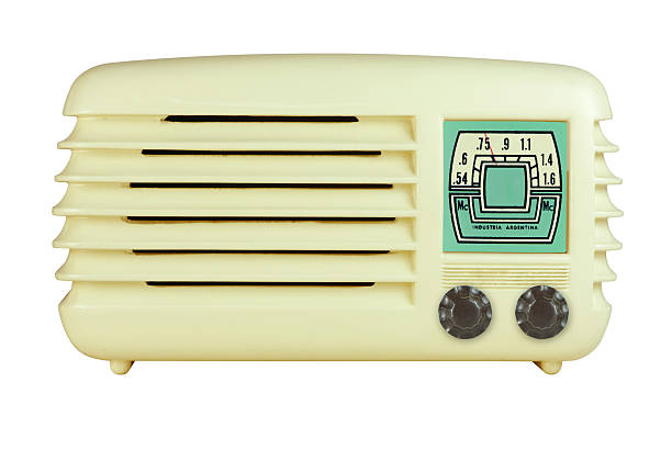 Antique Bakelite Radio stock photo