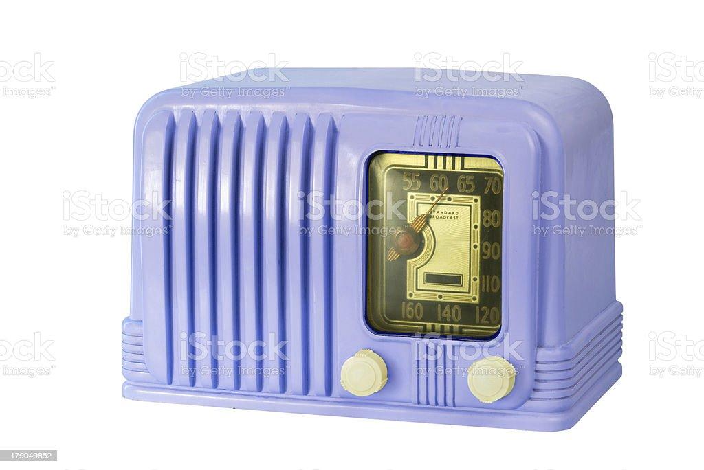 Tubo de antigüedades de baquelita Radio 05 - foto de stock