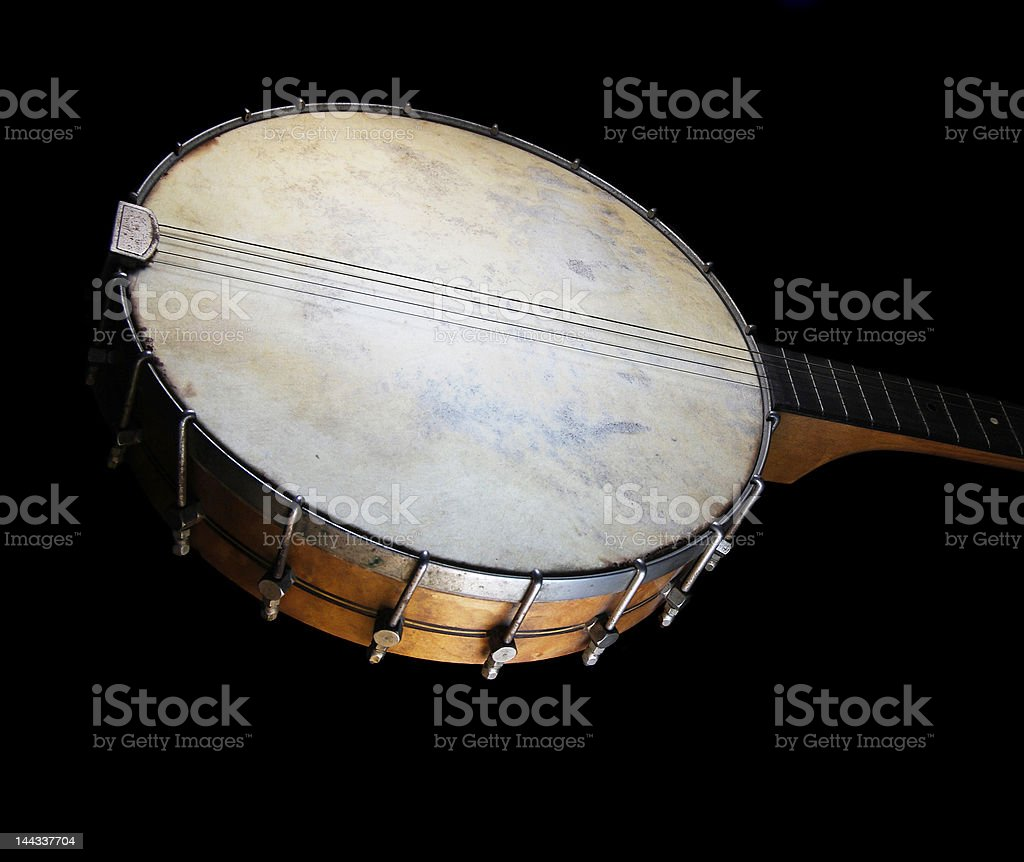 Antigo Banjo foto royalty-free
