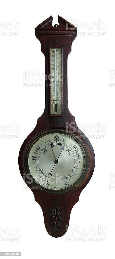 Antique Barometer - Royalty-free Agricultural Fair Stock Photo
