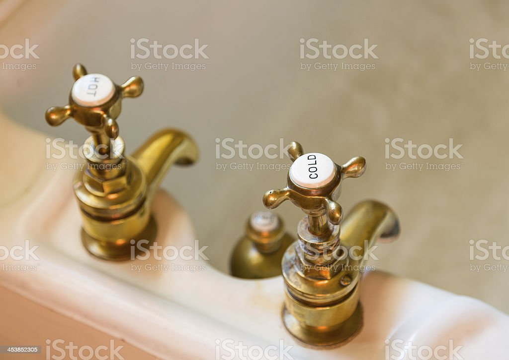 Picture of: Antique Bath Taps Or Faucets Stock Photo Download Image Now Istock