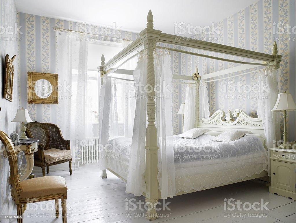 Antique bedroom royalty-free stock photo
