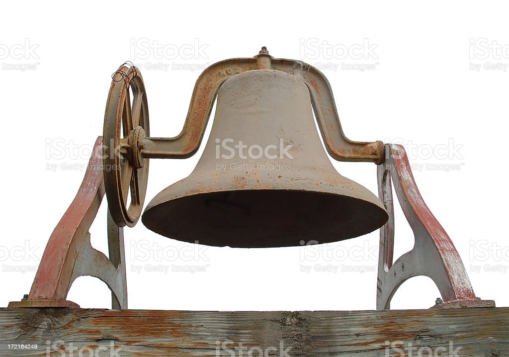 Antique Bell royalty-free stock photo