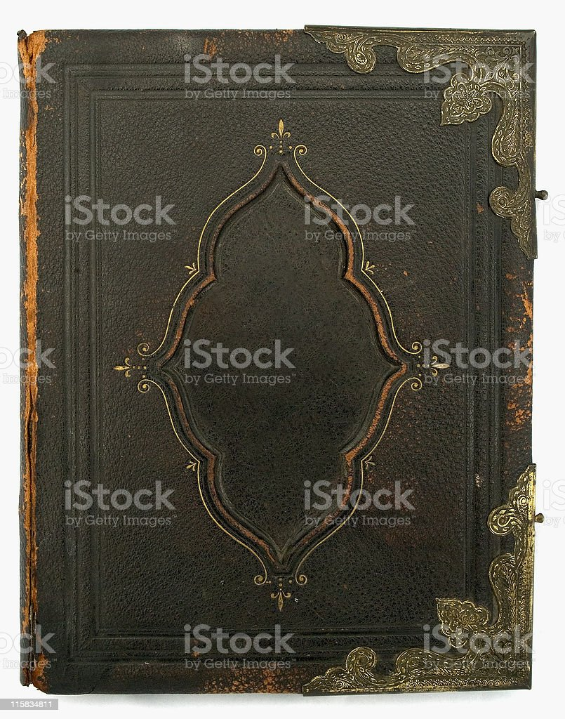 Antique Bible third of three royalty-free stock photo