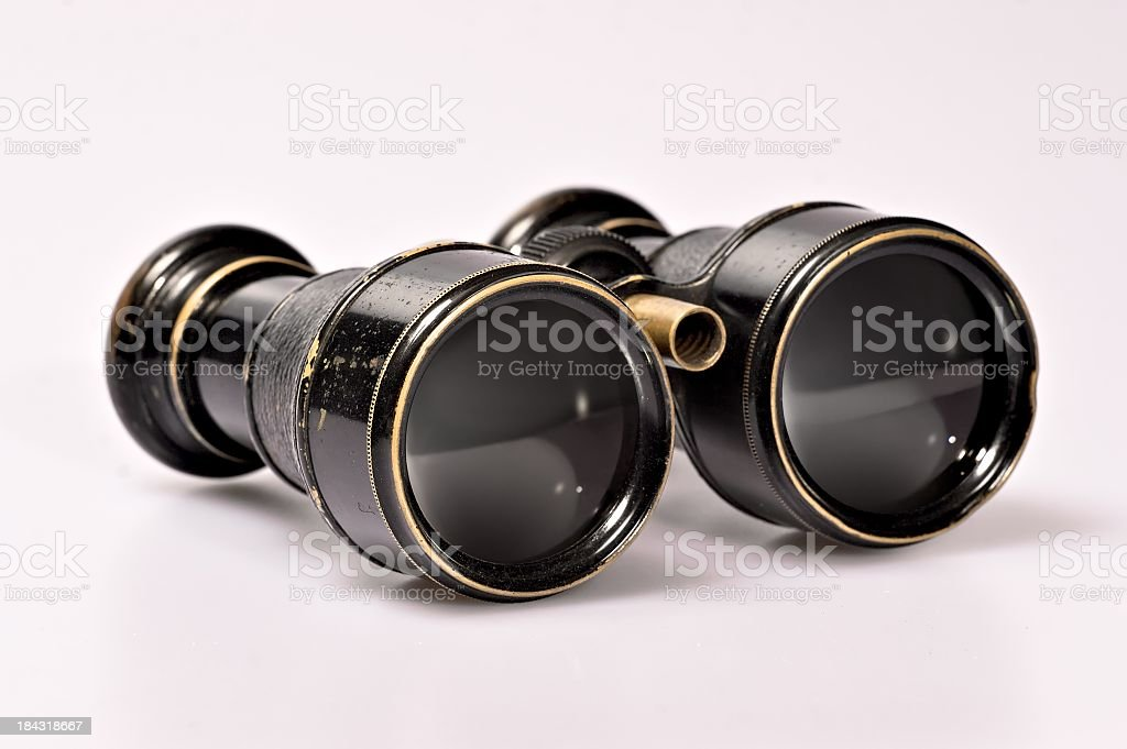 Antique Binoculars royalty-free stock photo