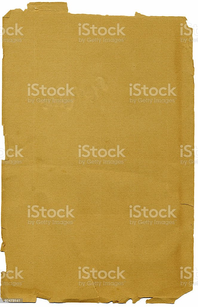 Antique blank album page royalty-free stock photo