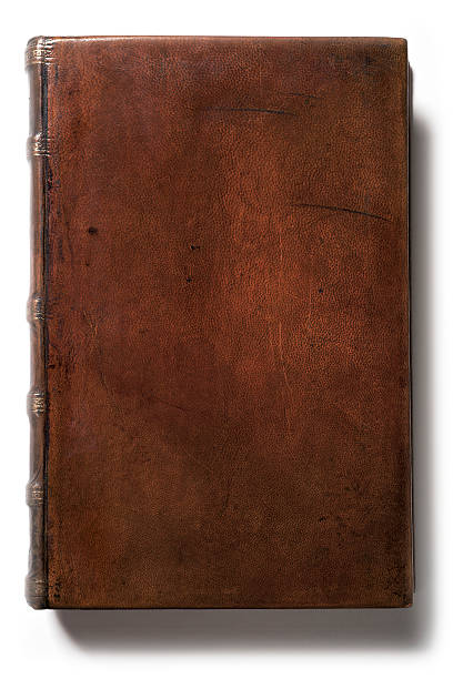 Antique Blank Leather Book This lovely 200 year old leather book has the beautiful patina that only centuries of age can produce. The cover is completely blank so you have plenty of room to add copy. hardcover book stock pictures, royalty-free photos & images