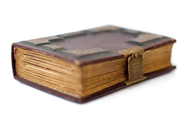 Antique Book III stock photo
