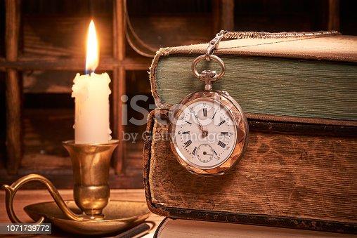 537881816 istock photo Antique book 1071739772