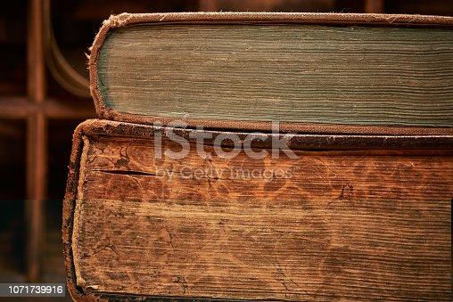 537881816 istock photo Antique book 1071739916