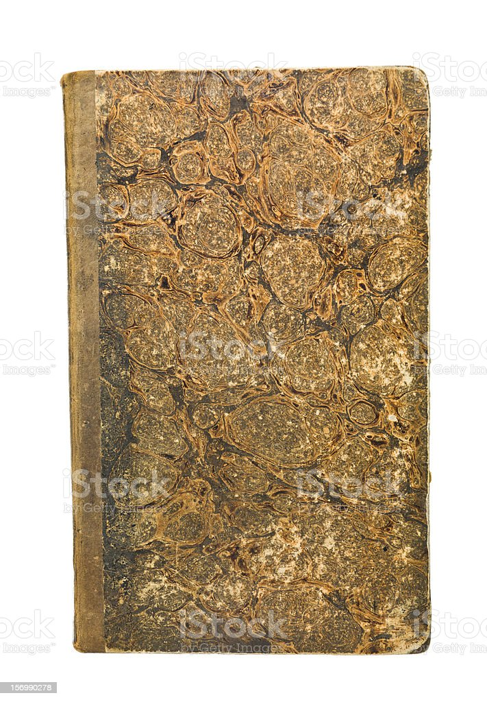 Antique Book royalty-free stock photo