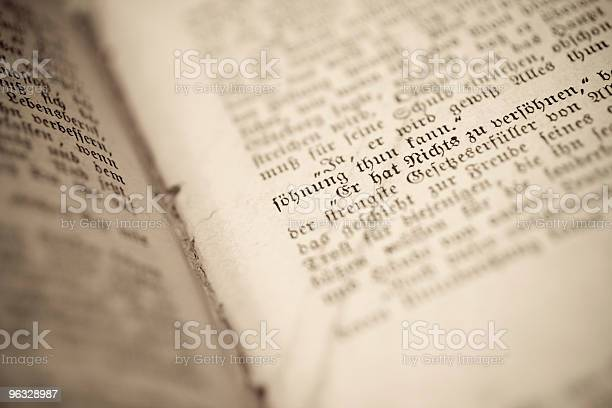 Antique Book Stock Photo - Download Image Now