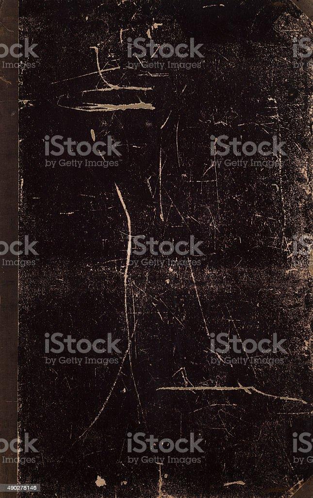 Antique book texture stock photo