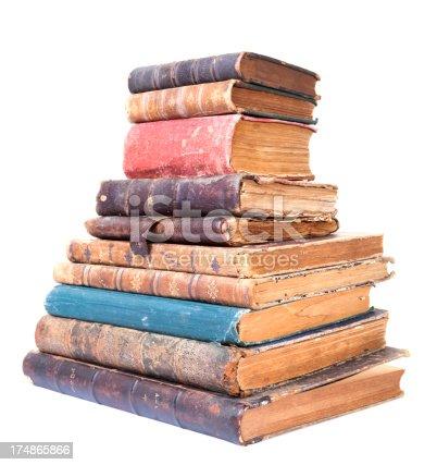 istock Antique Books 174865866