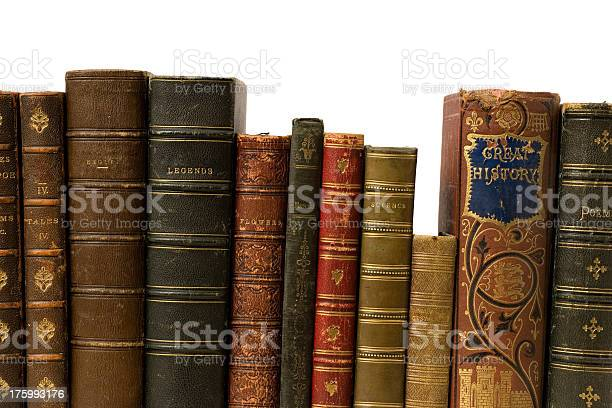 Antique Books Stock Photo - Download Image Now