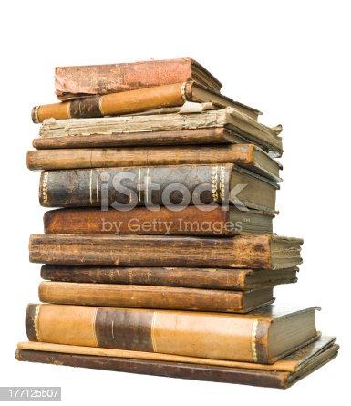 istock Antique Books 177125507
