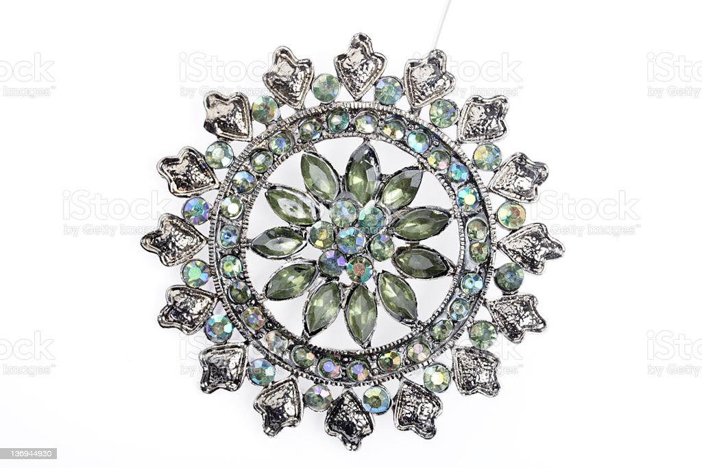Antique Broach royalty-free stock photo
