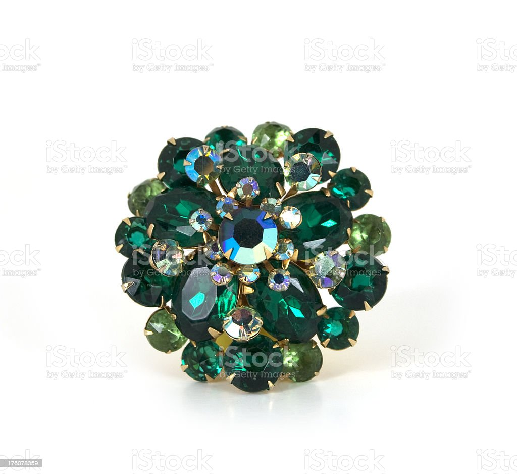 Antique Brooch royalty-free stock photo