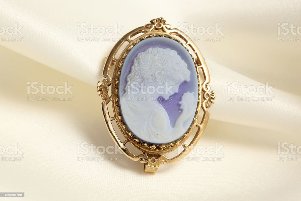 Antique Brooch stock photo