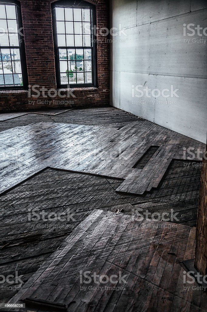 Antique Building Interior Office Space Renovation stock photo