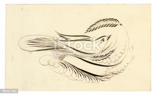 istock Antique Calling Card-8 93457352