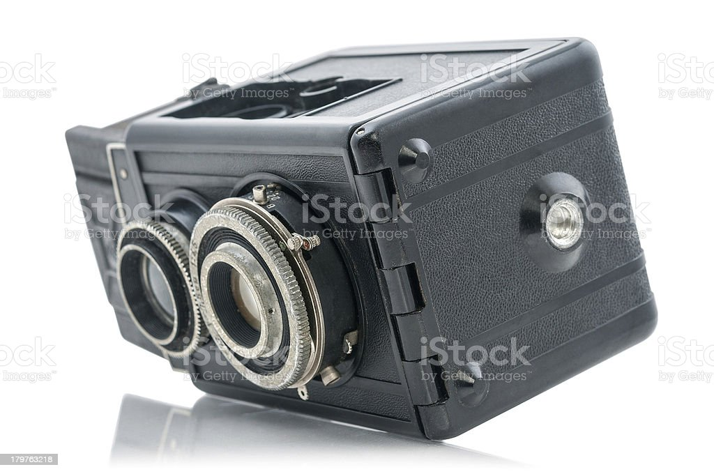 Antique camera royalty-free stock photo
