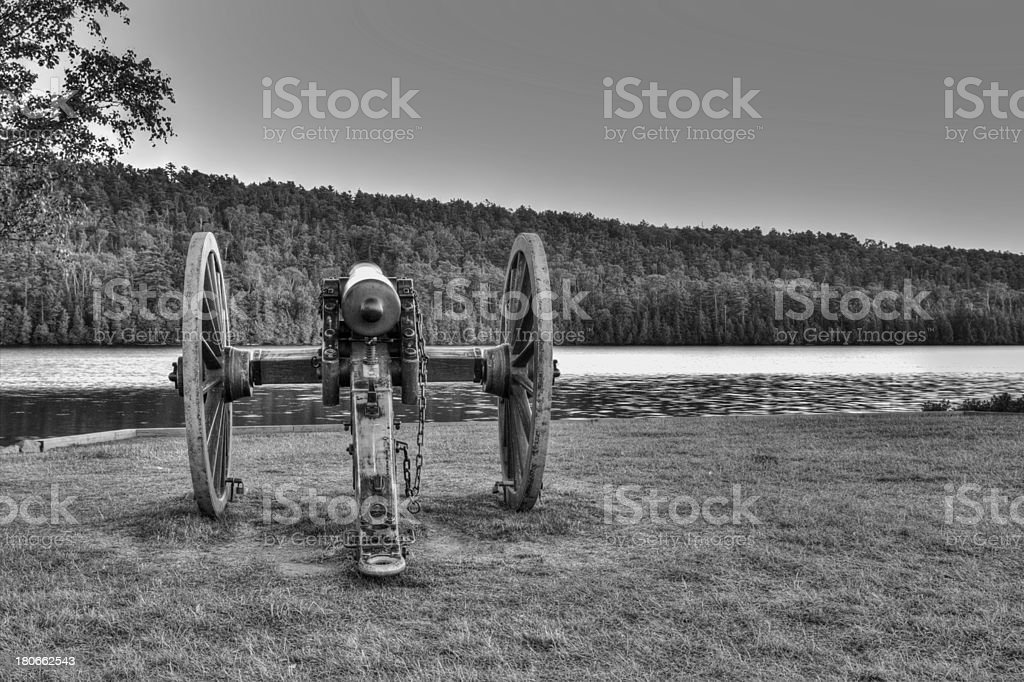 Antique Cannon royalty-free stock photo