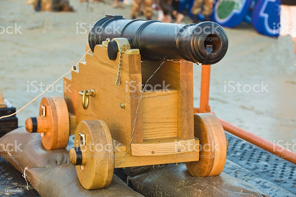 Antique Canon royalty-free stock photo