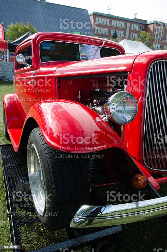 Antique Car: 1932, Ford, Coupé stock photo