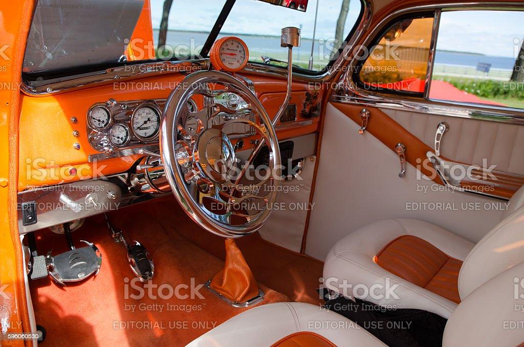 Antique Car: 1938, Chevrolet, Coupé stock photo