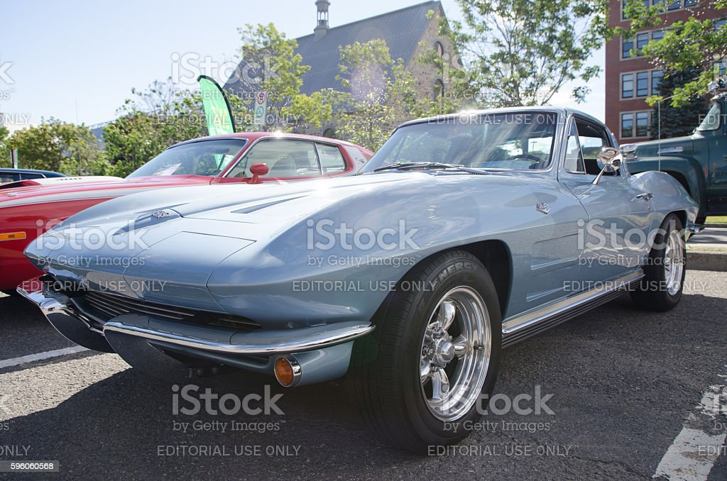 Antique Car: Chevrolet Corvette 1964 royalty-free stock photo