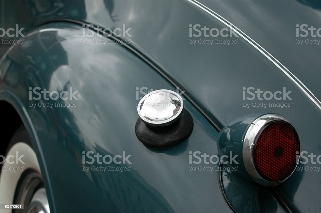 antique car detail royalty-free stock photo