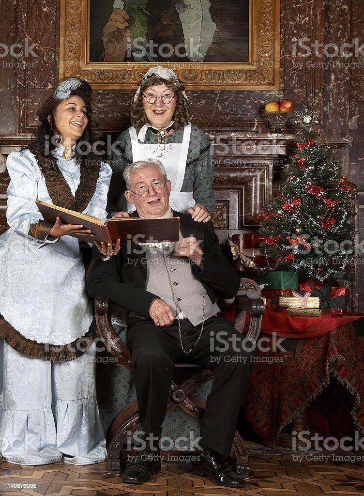 Antique carols stock photo