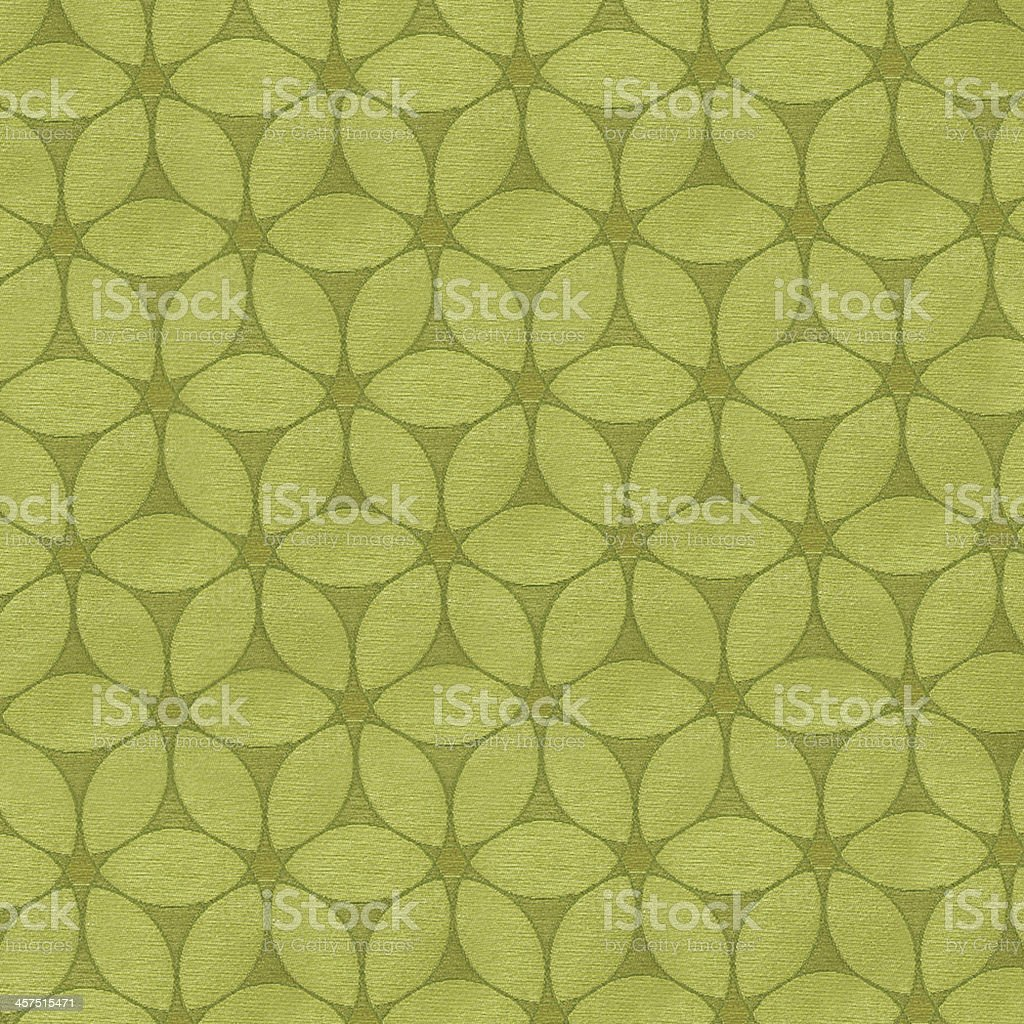 Antique carpet with gold leaf stock photo