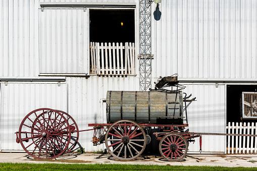 Antique carriage in Mackinac Island