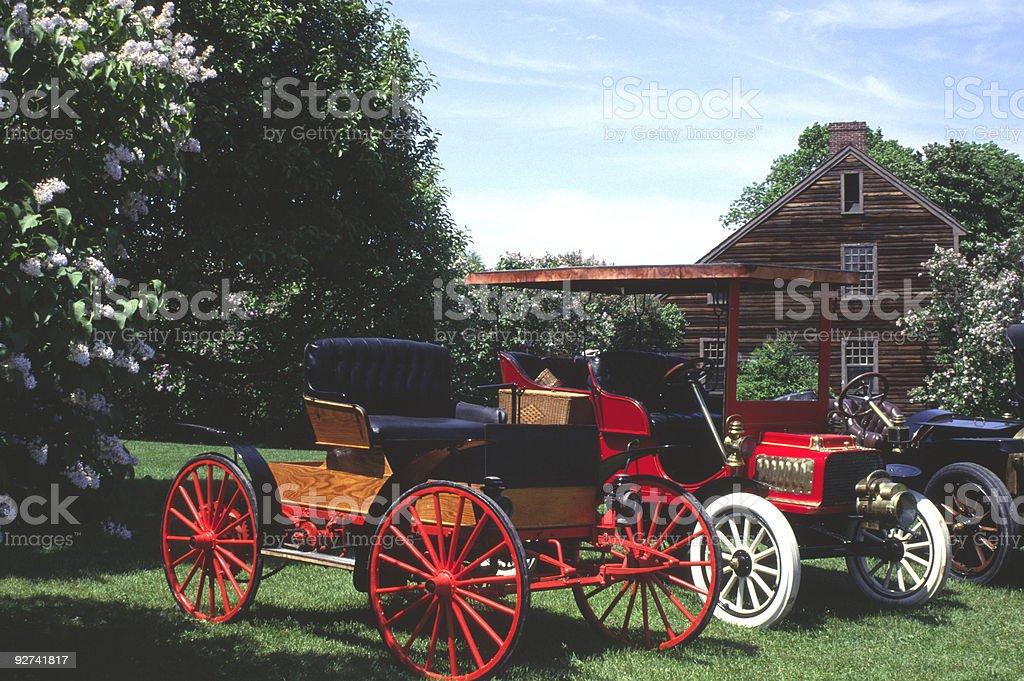 Alte Autos Lizenzfreies stock-foto