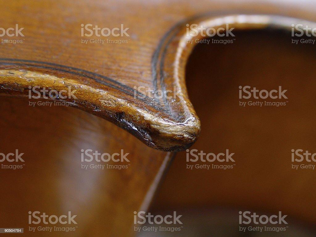 antique cello royalty-free stock photo